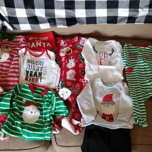 Christmas bundle sizes 6m, 6-9, & 9m
